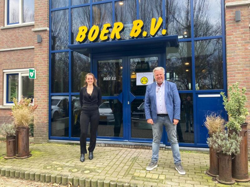 Harry Hamers op bezoek bij Boer B.V.
